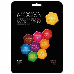Máscara + Serum MOOYA PRO Doble Lifting 40+