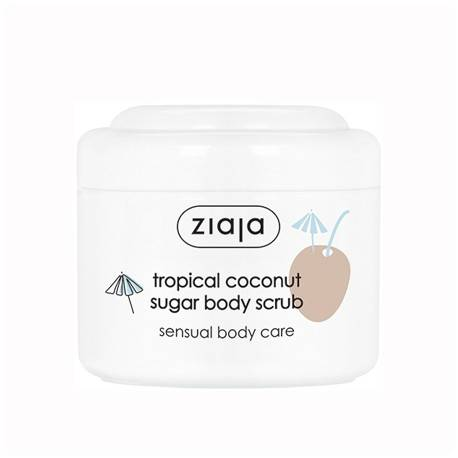 TROPICAL COCONUT Exfoliante corporal de azúcar 100ml