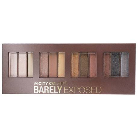 Paleta de sombras Barely Exposed
