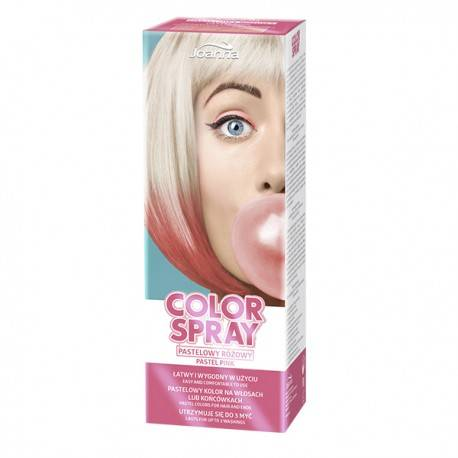 Spray de color Rosa Pastel 150 ml
