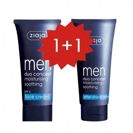 Set Men Crema facial+ Bálsamo after shave ¡gratis!