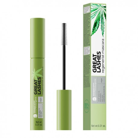 HYPO Máscara de pestañas regeneradora hipoalergénica Great Lashes