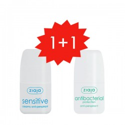 Set Antitranspirante Sensitive + Antibacterial ¡gratis!