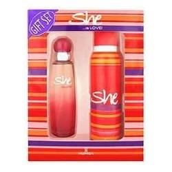 Set regalo She is Love EDT+DEO